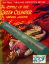 Cover For Sexton Blake Library S3 332 The Riddle of the Green Cylinder