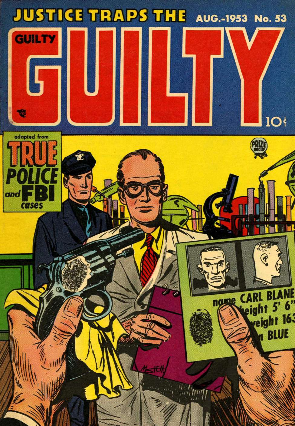 Comic Book Cover For Justice Traps the Guilty v6 11 (53) - Version 1