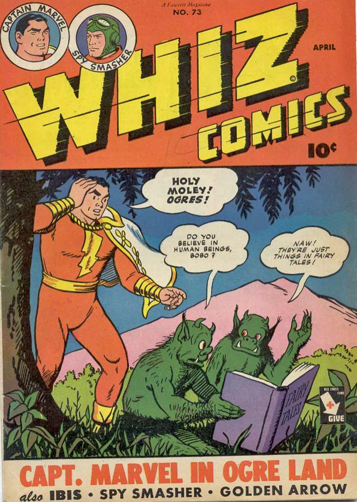 Comic Book Cover For Capt. Marvel Whiz Archives Vol 16