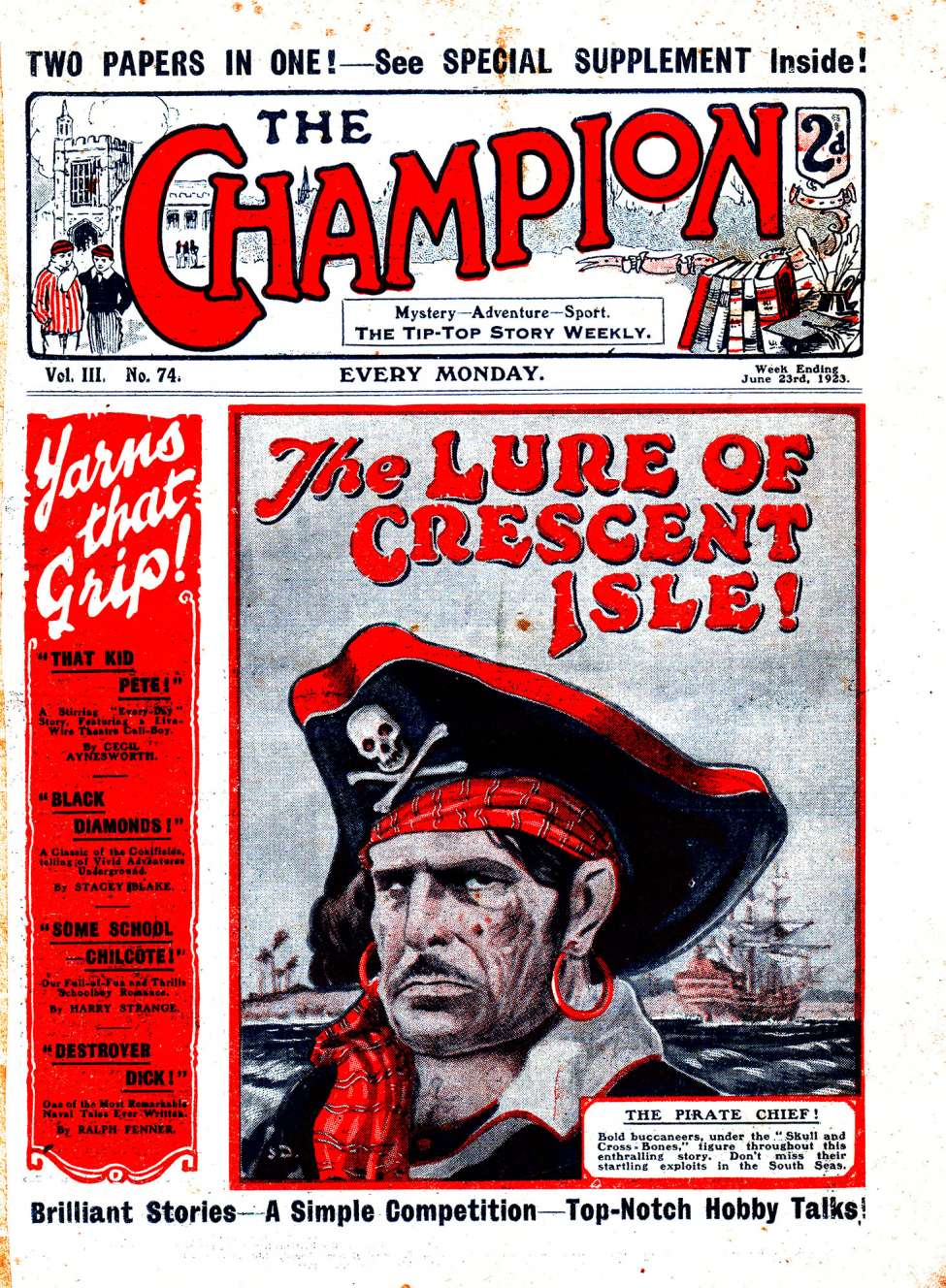 Comic Book Cover For The Champion 0074