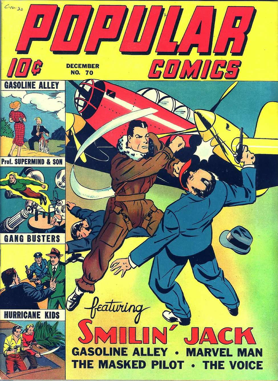 Comic Book Cover For Popular Comics #70 - Version 1