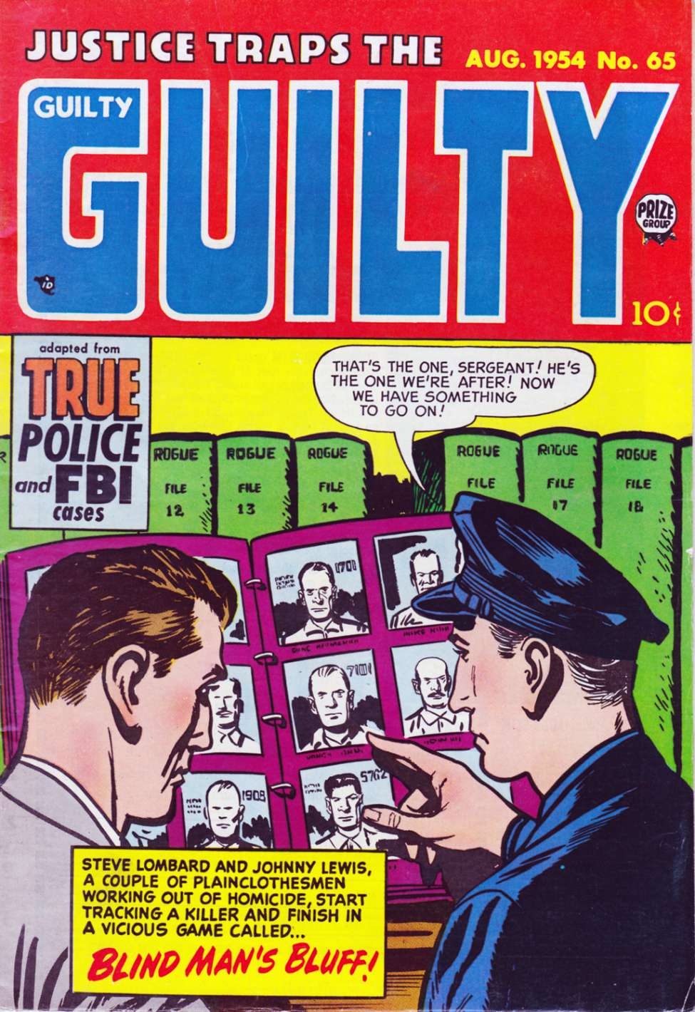 Comic Book Cover For Justice Traps the Guilty v7 11 (65)