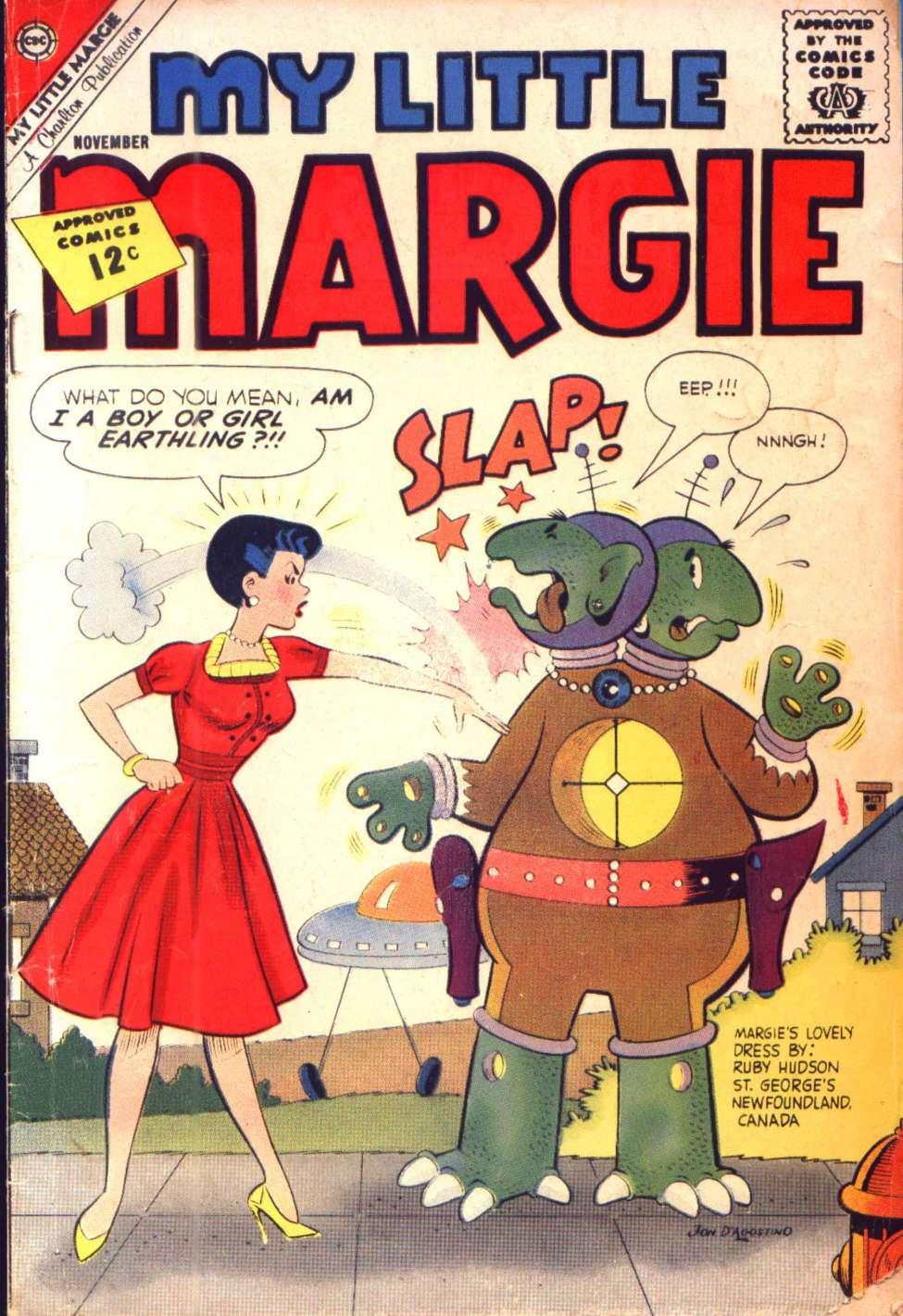 Comic Book Cover For My Little Margie #44