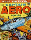 Cover For Captain Aero Comics 7