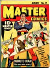 Cover For Master Comics 17 (paper/4fiche)