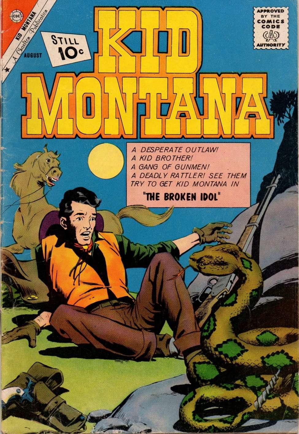 Comic Book Cover For Kid Montana #30