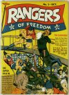 Cover For Rangers Comics 1