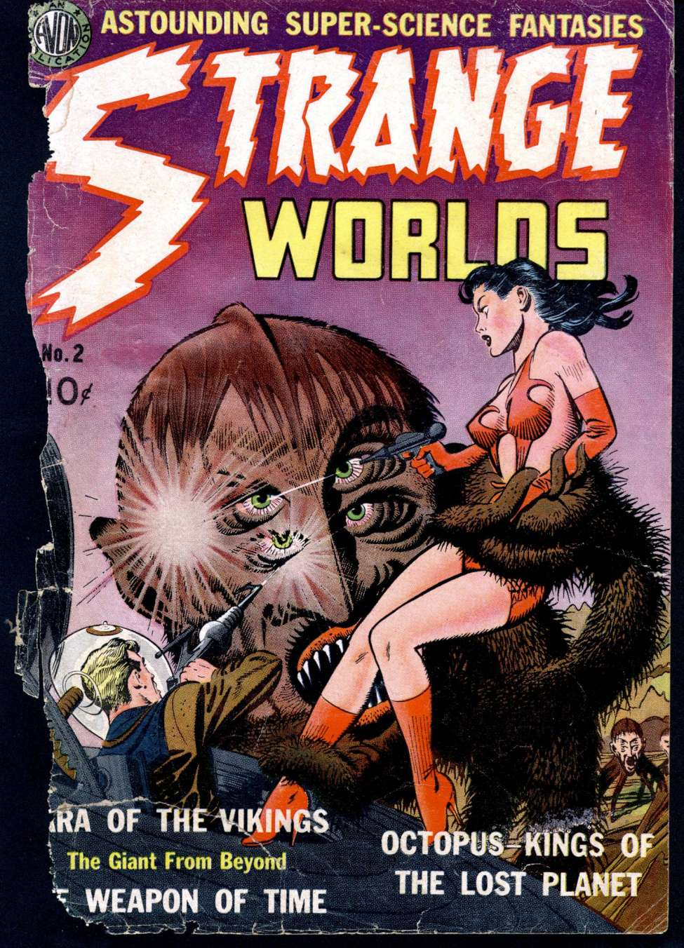 Comic Book Cover For Strange Worlds #2 - Version 1