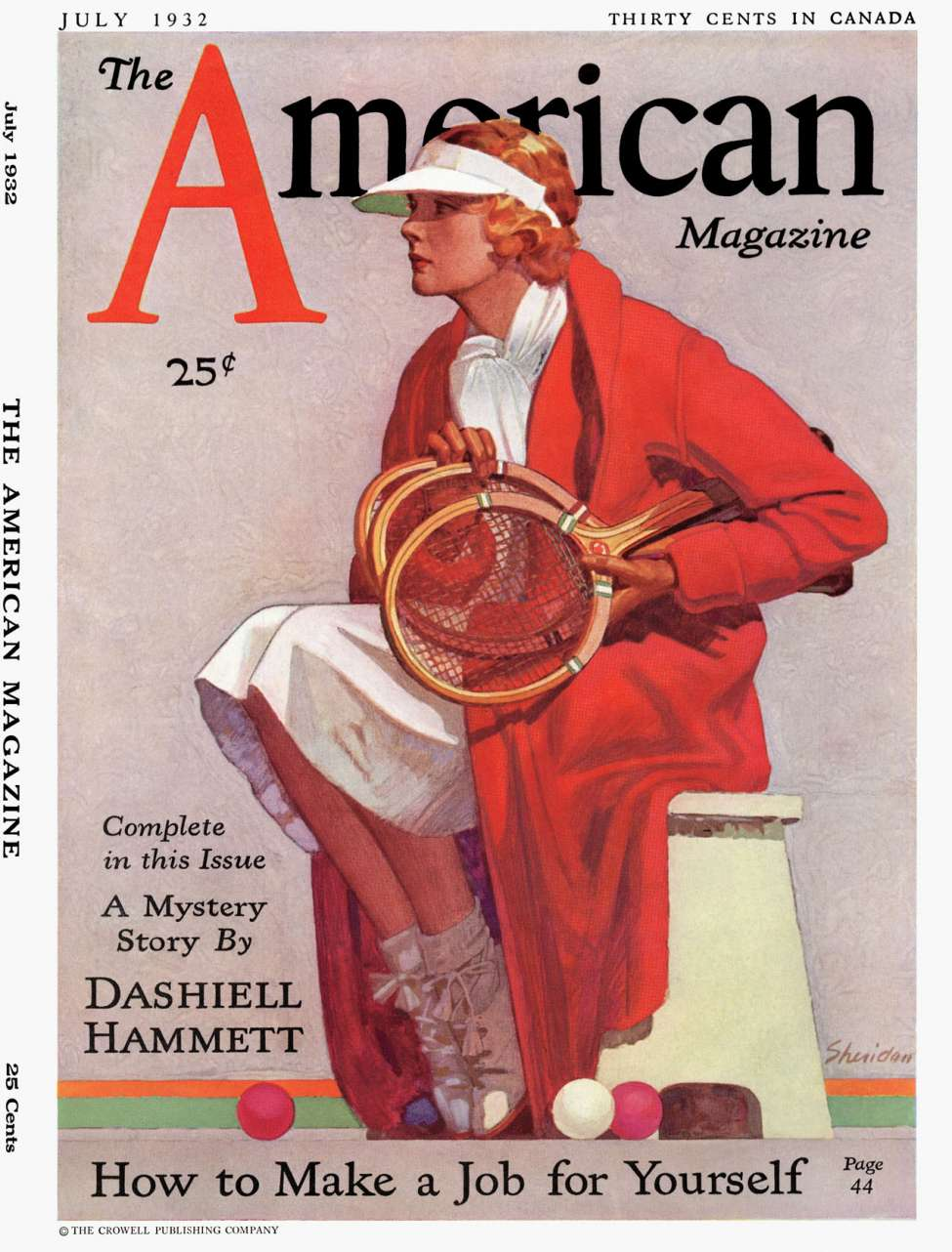 Comic Book Cover For The American v114 01