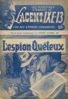 Cover For L'Agent IXE 13 v2 34 L'espion quêteux