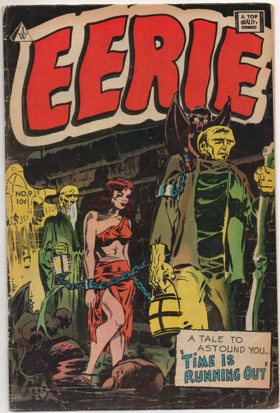 Comic Book Cover For Eerie 9
