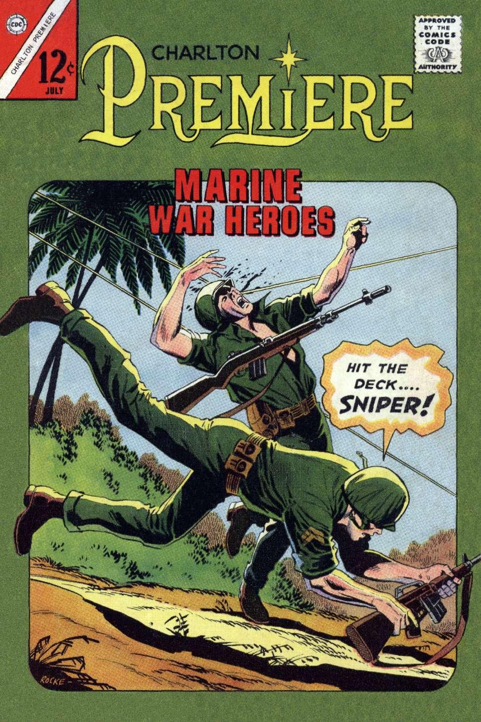 Comic Book Cover For Charlton Premiere #19