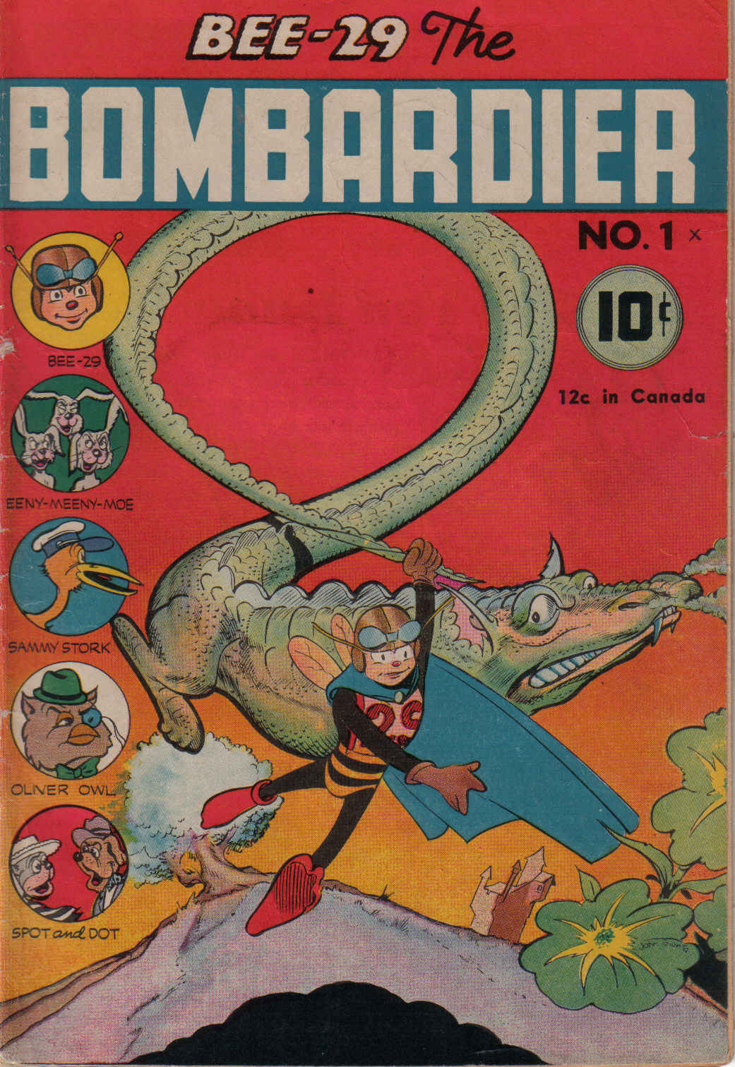 Comic Book Cover For Bee 29 the Bombardier #1