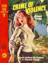Cover For Sexton Blake Library S4 403 Crime of Violence