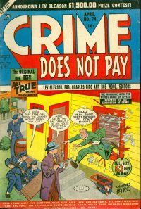 Large Thumbnail For Crime Does Not Pay #74 - Version 1