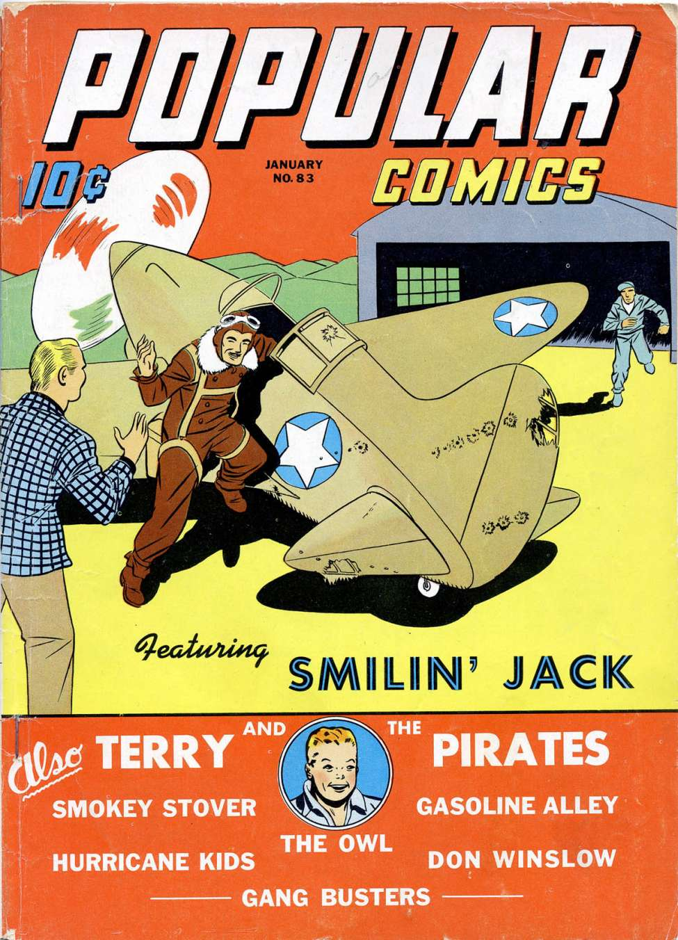 Comic Book Cover For Popular Comics #83