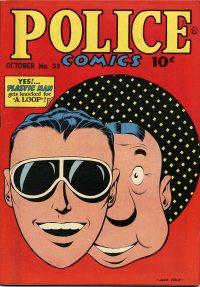 Large Thumbnail For Police Comics #35