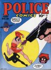 Cover For Police Comics 19