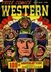 Cover For Prize Comics Western 100