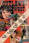 Cover For Outlaws of the West 25