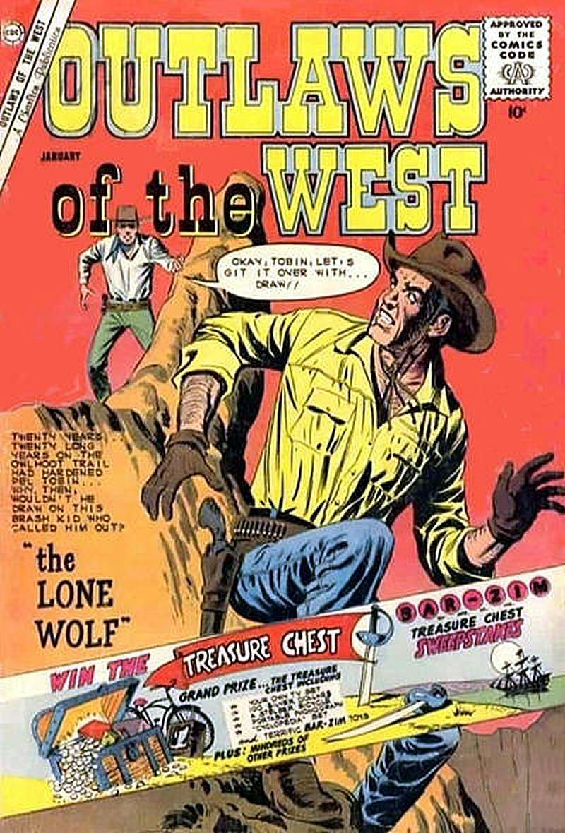 Comic Book Cover For Outlaws of the West #29