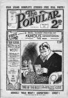 Cover For The Popular 204
