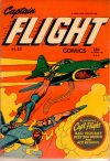 Cover For Captain Flight Comics 10