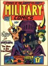 Cover For Military Comics 9