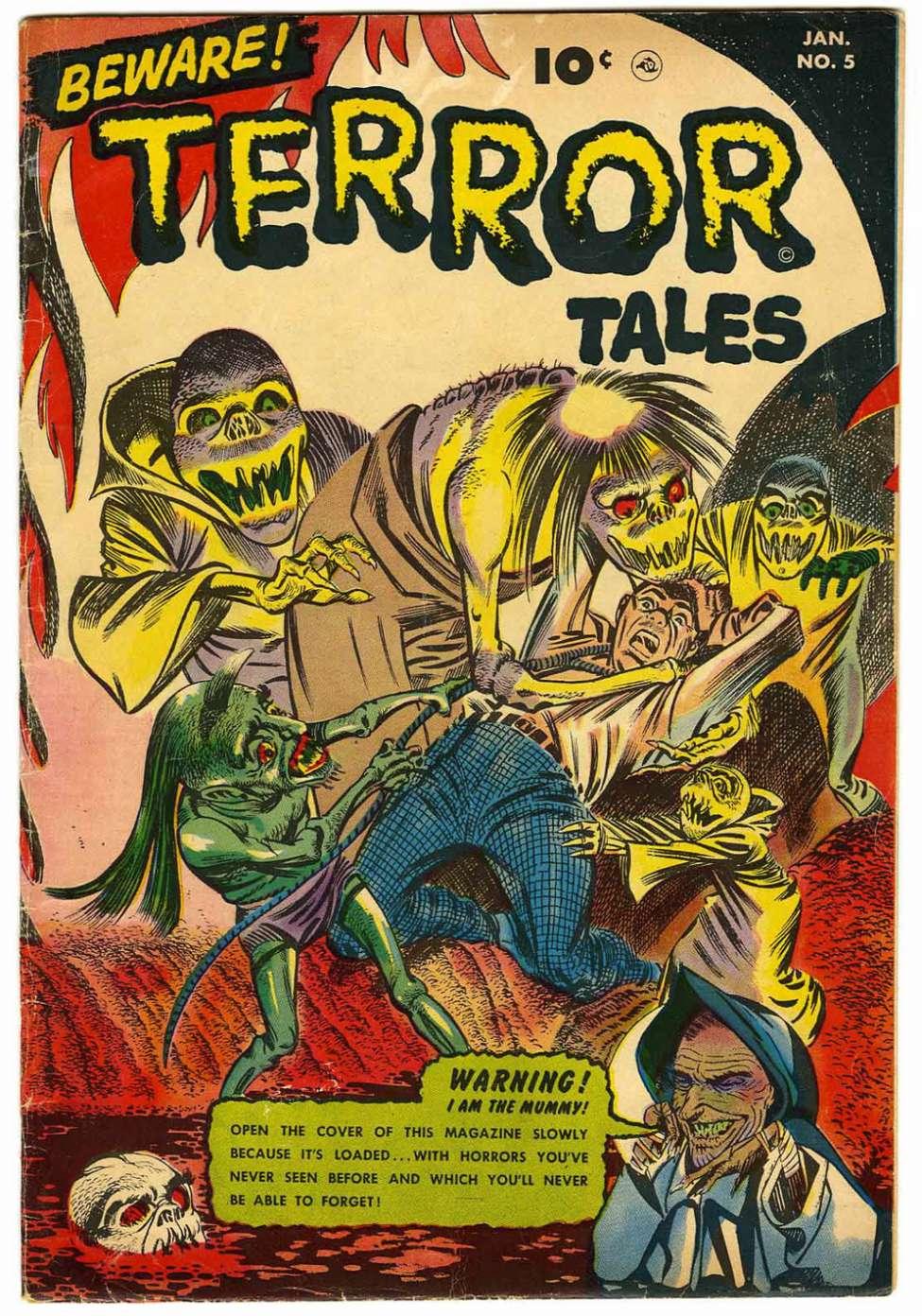 Comic Book Cover For Beware! Terror Tales #5