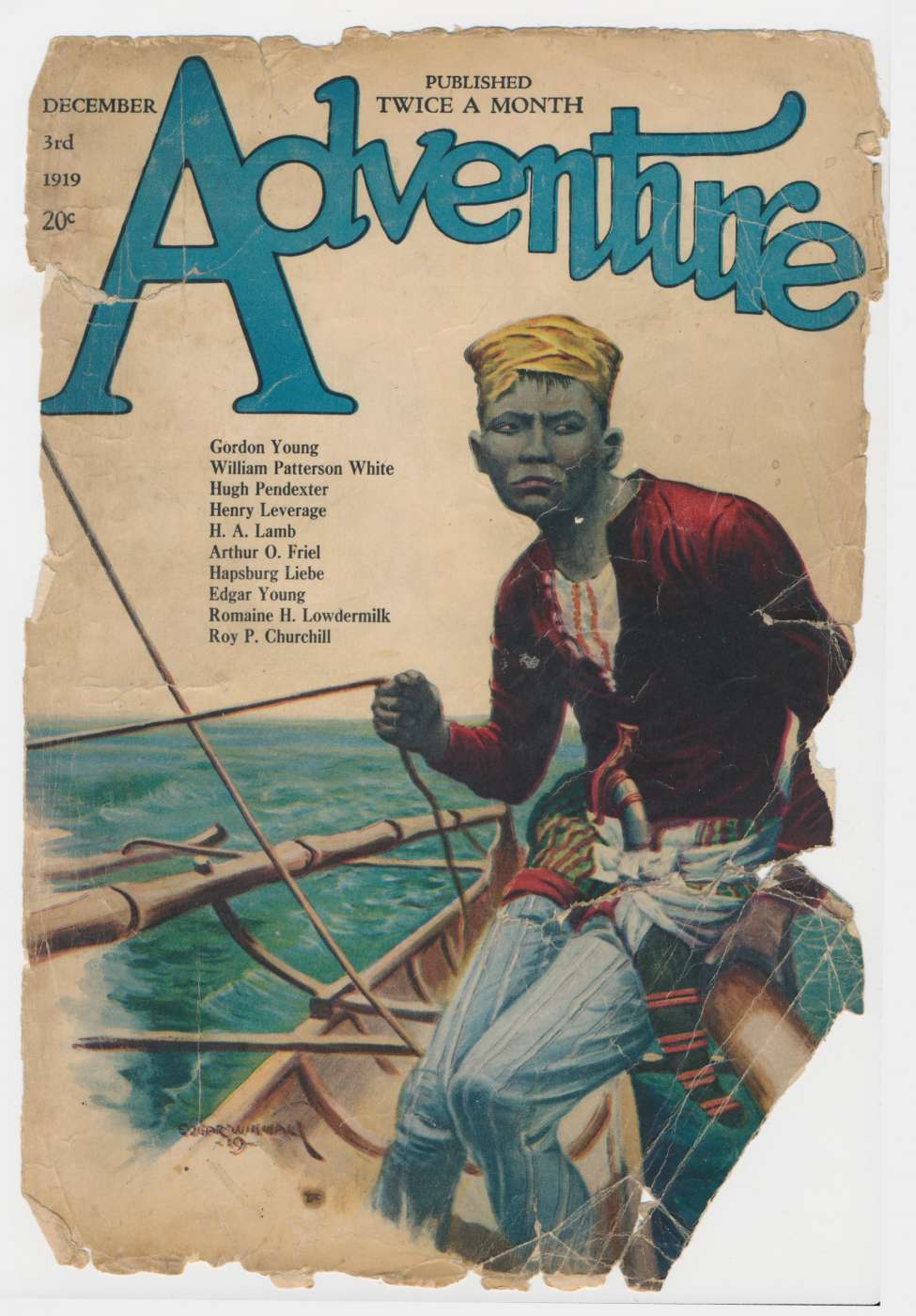 Comic Book Cover For Adventure v023 05