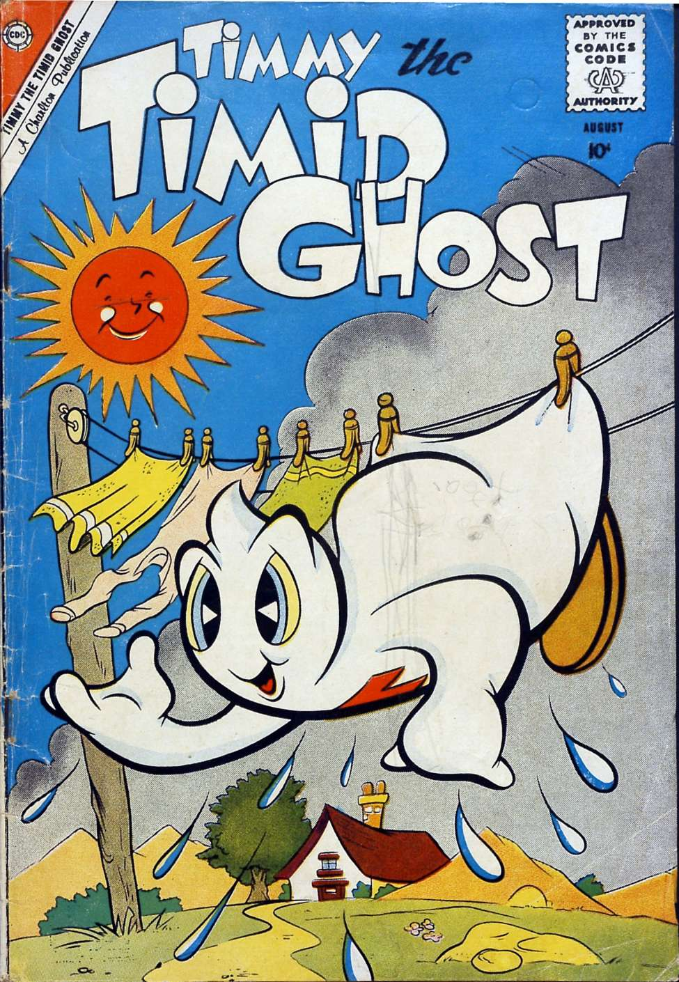 Comic Book Cover For Timmy the Timid Ghost #22