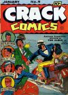 Cover For Crack Comics 9
