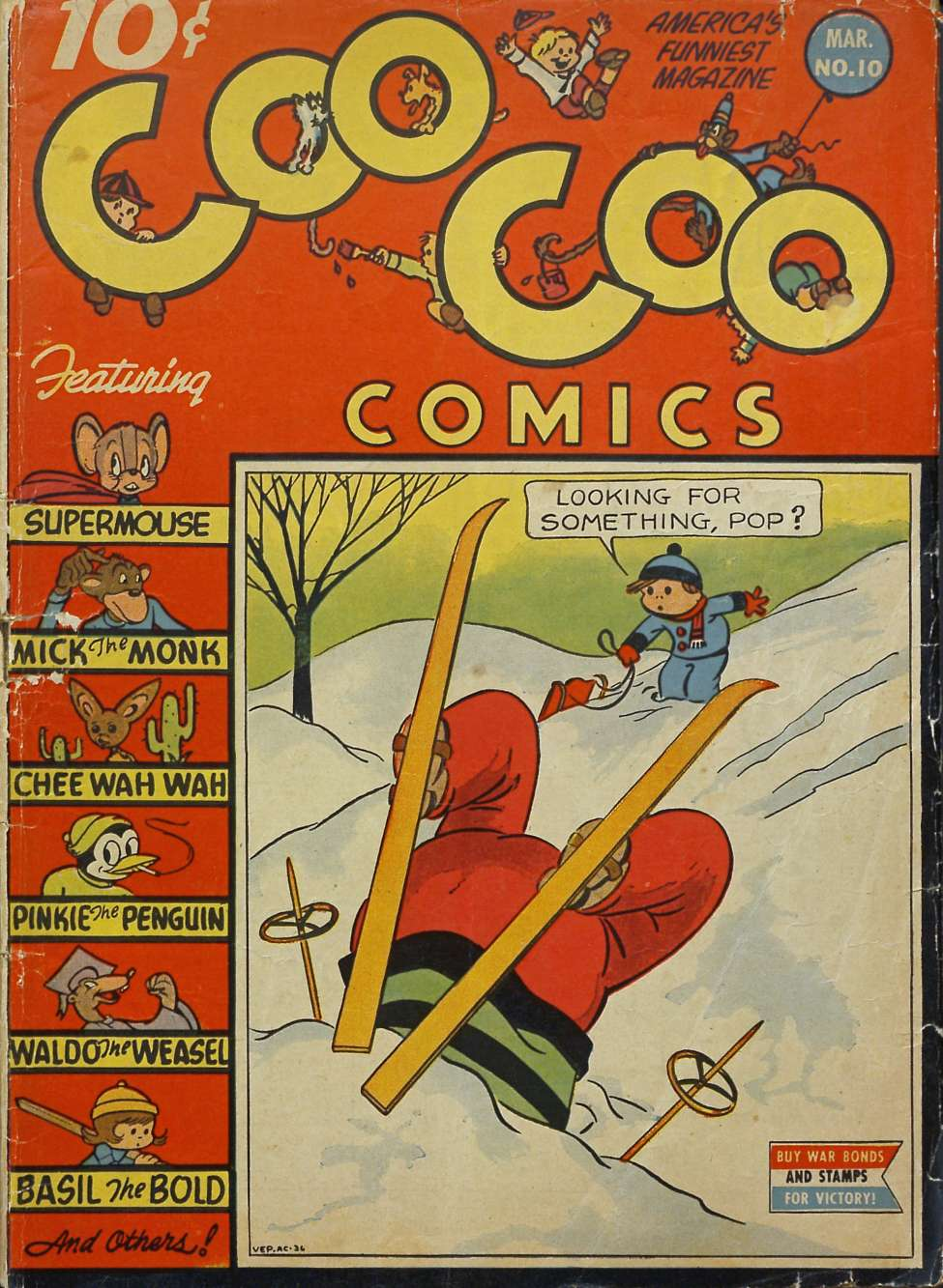 Comic Book Cover For Coo Coo Comics #10