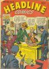 Cover For Headline Comics 44