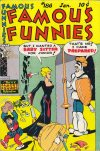 Cover For Famous Funnies 186