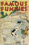 Cover For Famous Funnies 126