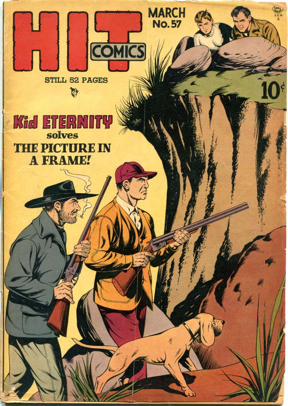 Comic Book Cover For Hit Comics #57