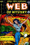 Cover For Web of Mystery 8