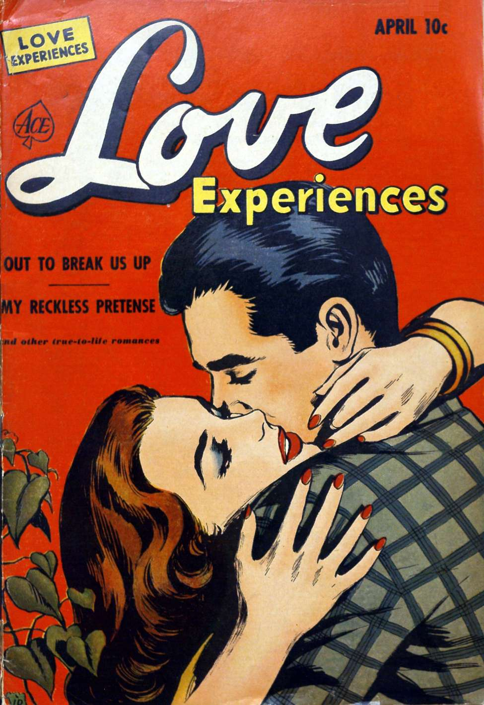 Comic Book Cover For Love Experiences #12