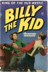 Cover For Billy the Kid Adventure Magazine 1