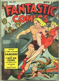 Large Thumbnail For Fantastic Comics #23