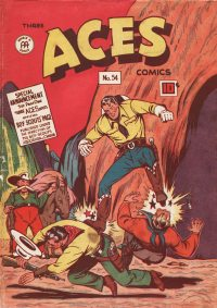 Large Thumbnail For Three Aces Comics #54