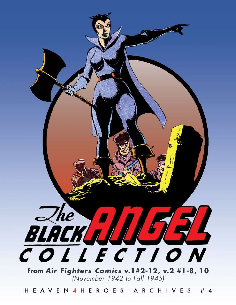 Comic Book Cover For Black Angel Archive