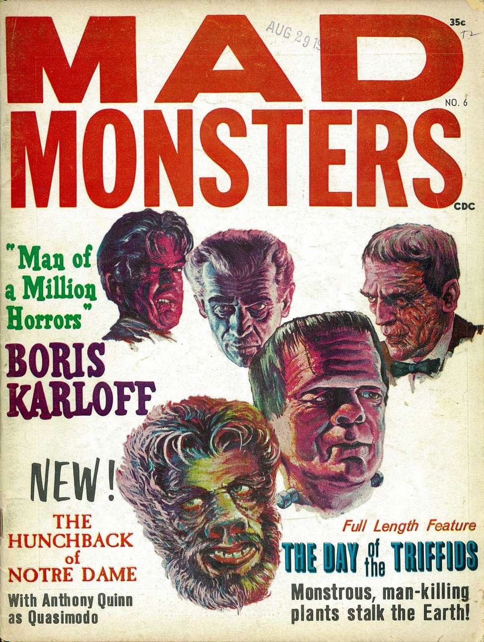 Comic Book Cover For Mad Monsters v01 06