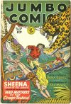 Cover For Jumbo Comics 128
