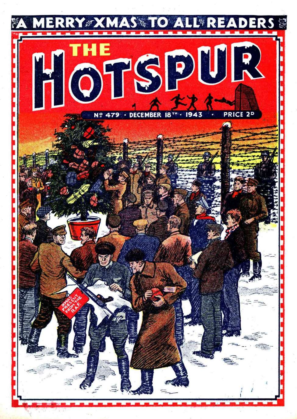 Comic Book Cover For The Hotspur 0479
