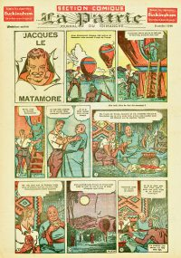 Large Thumbnail For La Patrie - Section Comique (1944-10-08)