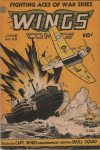 Cover For Wings Comics 58