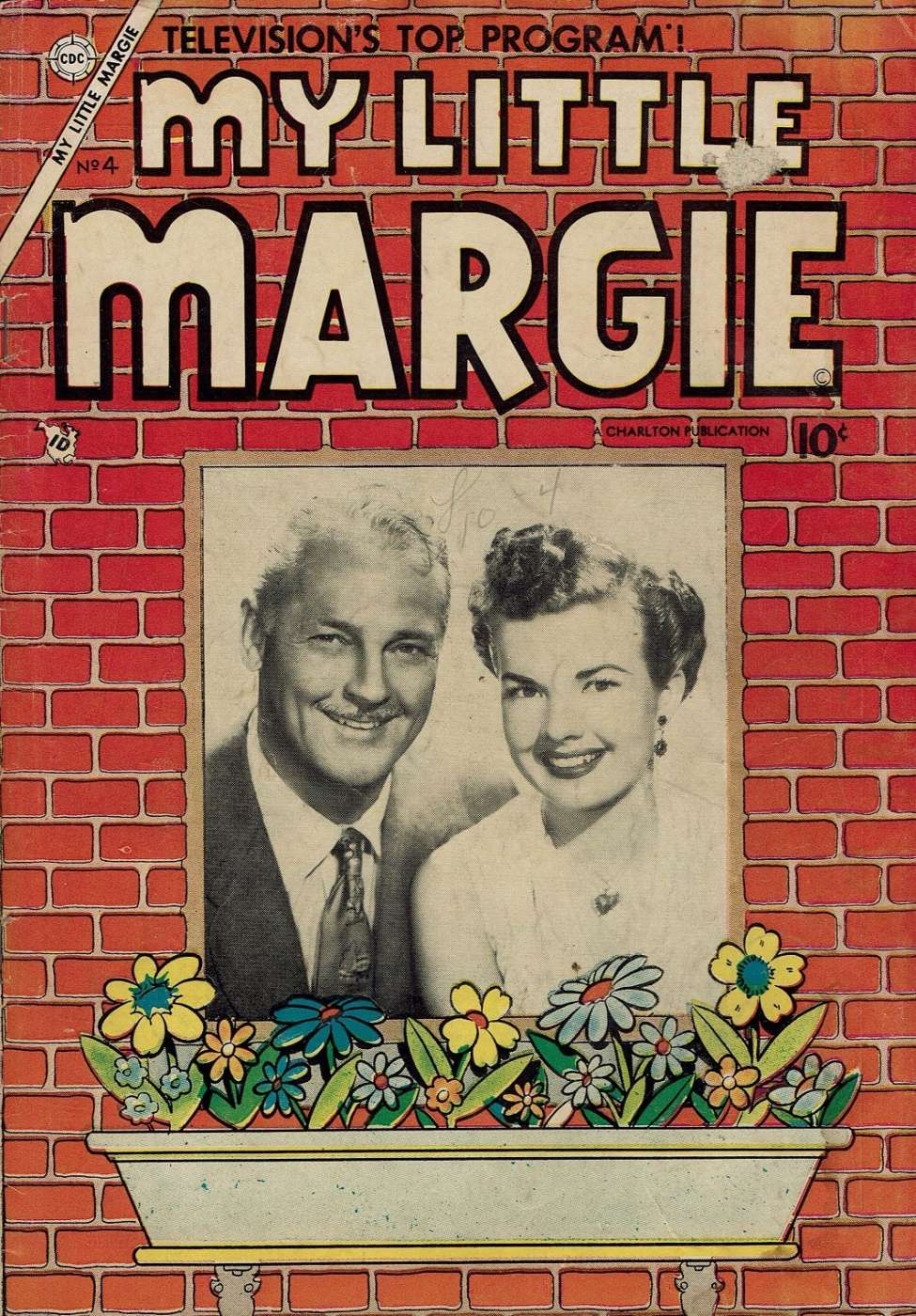Comic Book Cover For My Little Margie #4