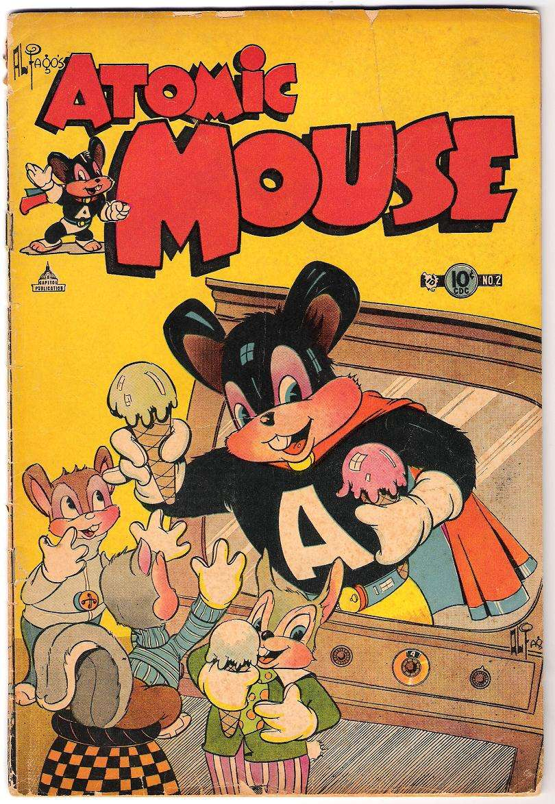 Comic Book Cover For Atomic Mouse #2